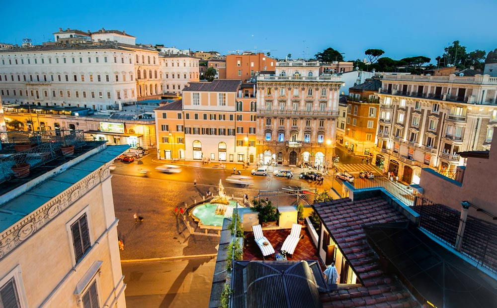 Hotel Rome Junior Suites with pool | Hotel Barocco | Rome ...