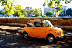 The Grand Tour of Rome in a Fiat 500