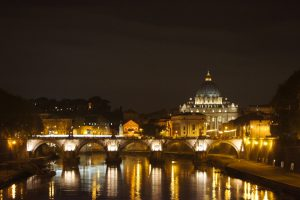 Discovering Rome by night